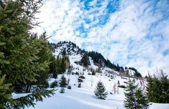 山风景在德国 免版税库存照片