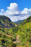 山风景在斯里兰卡 免版税库存图片