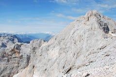 山风景在斯洛文尼亚 免版税库存图片