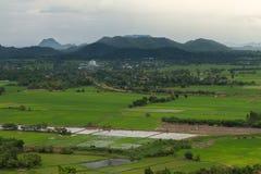 山风景在泰国 免版税库存图片