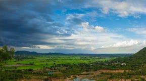 山风景在泰国 库存图片