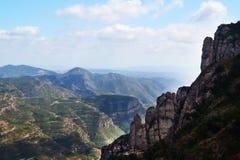 山风景在西班牙 免版税库存照片
