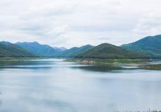 山风景在Chiangmai泰国 库存照片