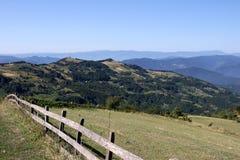 山风景西部塞尔维亚 库存照片