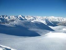 山风景视图 库存照片