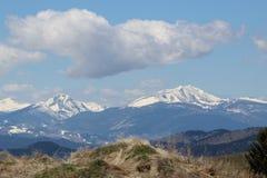 山风景,小山,蒙大拿 免版税库存照片