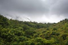 山风景,缅甸 免版税库存照片