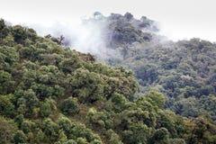 山风景,缅甸 免版税图库摄影