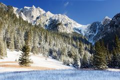 山风景 库存图片