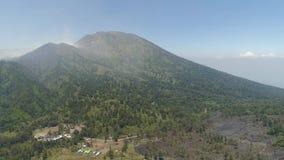 山风景Jawa海岛,印度尼西亚 股票视频