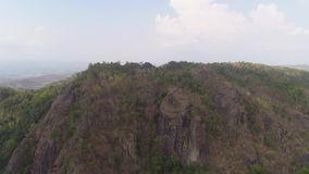 山风景Jawa海岛,印度尼西亚 影视素材