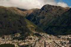 山麓小丘水平的安地斯 免版税库存图片