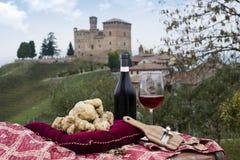 从山麓意大利的白色块菌 免版税库存图片
