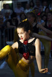 黑山,新海尔采格- 04/06/2016 :舞女 免版税库存图片