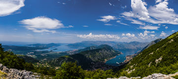 黑山-亚得里亚海的海岸的珍珠 免版税库存照片