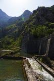 黑山-亚得里亚海的海岸的珍珠 免版税库存图片