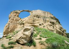 山`在Kislovodsk附近的圆环`,俄罗斯 库存图片