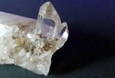 山水晶照片  图库摄影