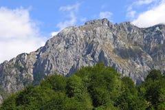 山-梯度 库存照片