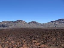 山 熔岩荒野 库存照片