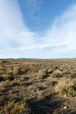 山-从萨瑟兰观测所盐的看法 免版税图库摄影