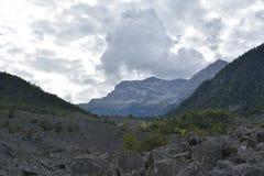 山Brenta白云岩意大利的看法 免版税库存照片