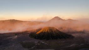 山Bromo, Java,印度尼西亚 库存图片