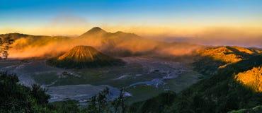 山Bromo, Java,印度尼西亚 图库摄影