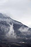 2月。 山Demirji 免版税库存照片