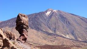 山El Teide在Tenerife海岛 免版税库存照片
