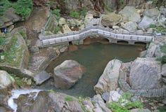 山Lu国家公园  免版税库存图片