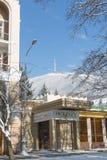 山Mashuk的上面与基洛夫大道的在Pyatigorsk 库存图片