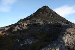 山pico顶层 免版税库存图片