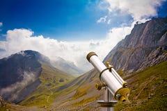 山pilatus瑞士 免版税图库摄影