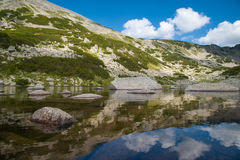 山Pirin风景 库存照片