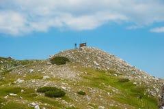 山Pirin风景 免版税库存图片
