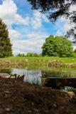 山rhodope的湖 免版税库存图片