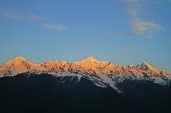山s神圣的西藏 免版税图库摄影