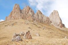 山Tkhach在Adigeya 库存图片