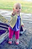 岁儿童走 图库摄影