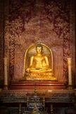 300岁菩萨雕象在泰国 图库摄影