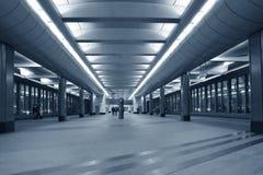 岗位地铁 库存照片