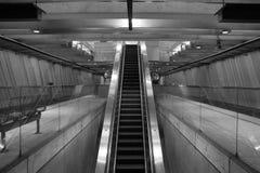 岗位地铁 免版税库存图片