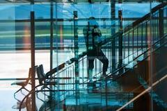 岘港国际机场 免版税库存图片