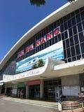 岘港市火车站,越南 免版税库存照片