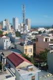 岘港市风景在一个晴朗的早晨 越南 库存图片