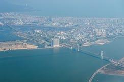 """岘港市,越南†""""事务和岘港市市管理区域  库存照片"""
