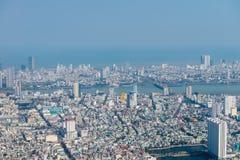 """岘港市,越南†""""事务和岘港市市管理区域  免版税库存图片"""