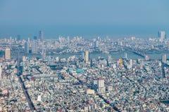 """岘港市,越南†""""事务和岘港市市管理区域  免版税图库摄影"""