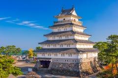 岛原市城堡在日本 免版税图库摄影
